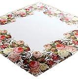 Raebel - Tischdecken - Druckmotiv Rosen - Ostern Frühling - Größe wählbar - 100% Polyester (110 x 110 cm)