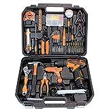 LWOL Werkzeugsatz 55-TLG. Hand-DIY-Werkzeugsatz Haushaltsgrundwerkzeugsatz mit...