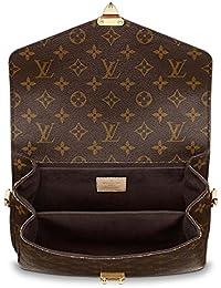 Louis Vuitton - Bolso al hombro de Piel para mujer Marrón marrón