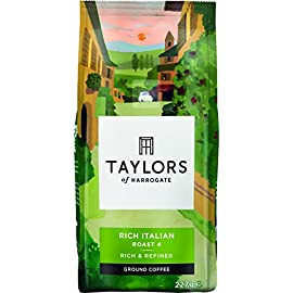 Taylors Of Harrogate Rich Italian Ground Coffee, 227g