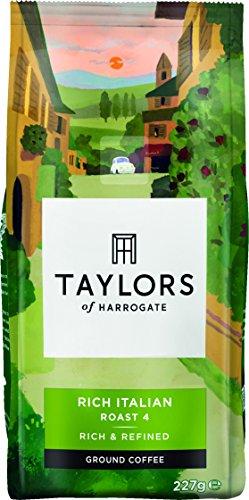 Taylors Of Harrogate Rich Italian Ground Coffee, 227g 51Jqg7XPlBL