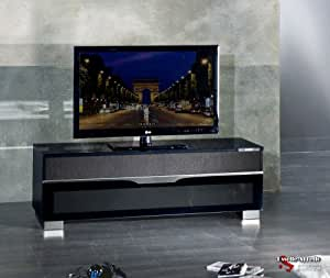 munari ps150ne paris meuble tv de type rack high tech. Black Bedroom Furniture Sets. Home Design Ideas