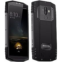 Teléfonos Móviles IP68 Resistente Robusto,4G Smartphone Android Octa-core 6+128GB Desbloqueado 18:9 Pantalla 5,7 Pulgada HD Dual SIM para trabajar al aire libre