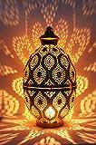 MAADES Design Laterne Kerzenhalter Windlicht Afzal
