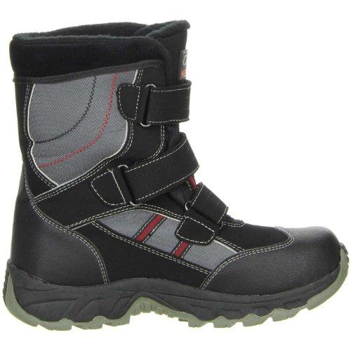 ConWay Kinder Winterstiefel Snowboots schwarz Schwarz