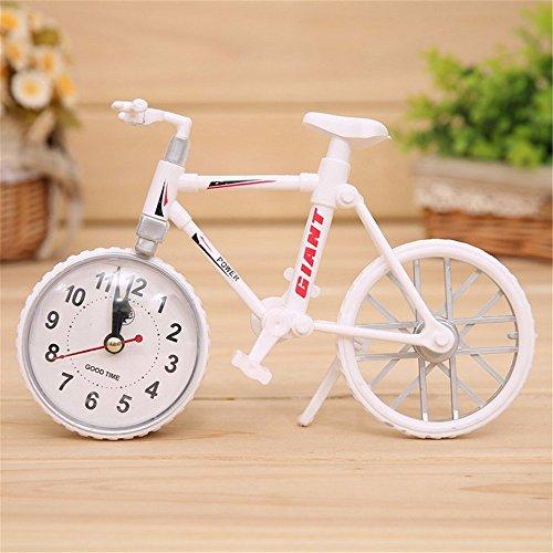 Preisvergleich Produktbild DIDADI Alarm clock Kreative Schlafzimmer alarm Fahrrad der Tabelle für Desktop Studenten bedside Wecker Schreibtisch Uhren Persönlichkeit der Kinder
