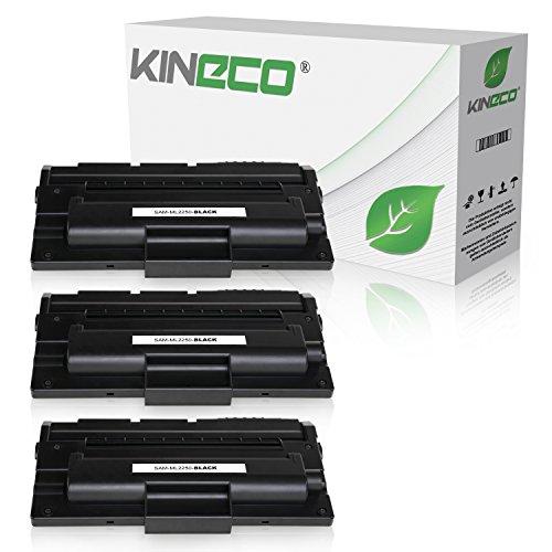 3 Toner kompatibel zu Samsung ML-2250 für Samsung ML-2251 NP NXAA, ML-2254, ML-2252W, ML-2250 G M - ML-2250D5/ELS - Schwarz je 6.000 Seiten (Np-kopierer-toner)