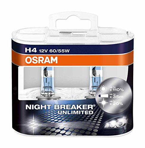 Osram H4 P64193 Night Breaker Unlimited Duo Box (12V, 60/55W)