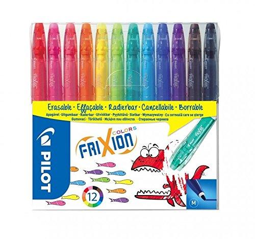 Pilot 4144S12 Fasermaler FriXion Colors, löschbar, 12-er - Malen Kinder Für Bad