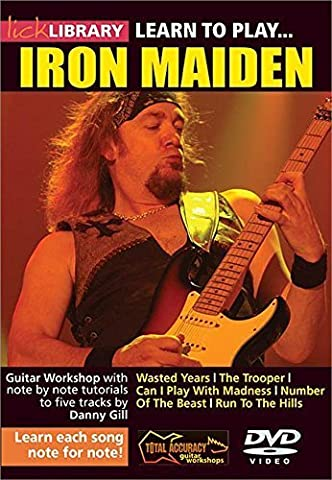 Learn To Play Iron Maiden For Guitar by Danny Gill
