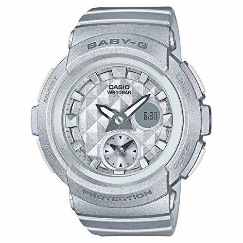 Casio Baby-G BGA195-8A Silver / Silver Resin Analog/Digital Quartz Women's Watch