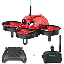 REDPAWZ R011 5.8G 40CH Micro FPV Racing Drone con 1000TVL FOV 120 ° Occhiali Grandi FPV Occhiali FPV - RTF