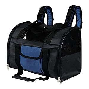 Trixie 2882 Connor Rucksack, Nylon, 42 × 29 × 21 cm, schwarz/blau