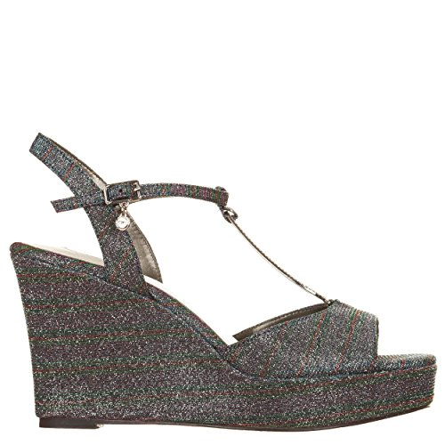 VialeScarpe  O6-sa0456mu_40, Damen Sandalen mehrfarbig mehrfarbig 40 Mehrfarbig