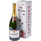Champagne Taittinger Brut Reserve Non Vintage Magnum Wine Gift Box