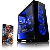 Vibox VBX-PC-278284 Gaming Desktop PC (Intel Core i5 8400, 1000GB Festplatte, 8GB RAM, NVIDIA GeForce GTX 1080, kein Betriebssystem) Blau (Haushaltswaren)