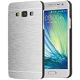 Motomo Back Cover For Samsung Galaxy A8 - Silver