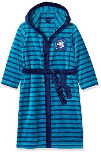 Preisvergleich Produktbild Schiesser Jungen Capt´n Sharky Bademantel, Blau (Türkis 807), 140
