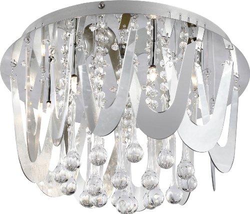 Deckenleuchte Deckenlampe Lampe Leuchte Beleuchtung Licht Globo DRACONIS 68364-6
