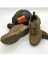 HCBYJ scarpa Forze Speciali Scarpe tattiche Estate Stivali da Combattimento  Scarpe da Corsa Desert Boots Stivali 1fc65ab2b77