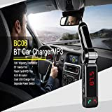 Car MP3 Audio Player Bluetooth FM Transmitter Transmiter FM Modulator Car Kit LCD Display USB Charger