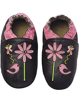 Rose & ChocolatRCC Sweet Birdy - Pantuflas de Aprendizaje Bebé-Niños