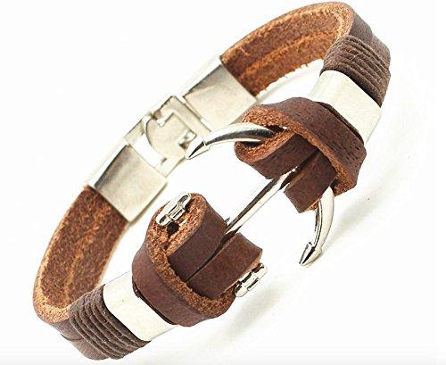 Addic-High-Quality-Genuine-Leather-Bracelet-Men-Anchor-Bracelets-for-Unsix