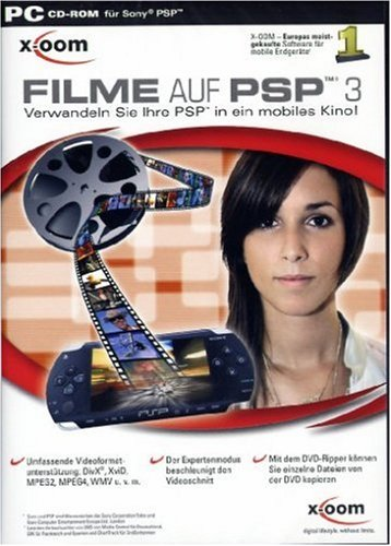 X-OOM Filme auf PSP 3