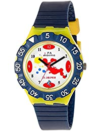 Maxima Analog White Dial Children's Watch - 04471PPKW