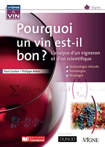 Pourquoi un vin est-il bon?