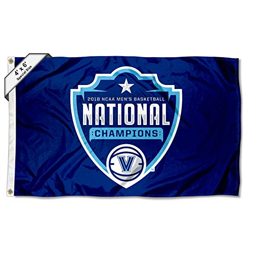 4' X 6' Polyester (College Flags and Banners Co. Villanova Wildcats 4 'x6' 2018 Basketball National Champions Flagge)