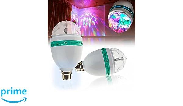 Buy LMNOP - LED Rotating Lamp, Disco Light, Party Light