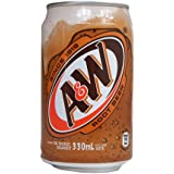 A&W Root Beer - 24 x 330ml Cans
