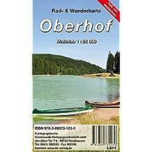 Oberhof: Rad- und Wanderkarte (wetterfest)