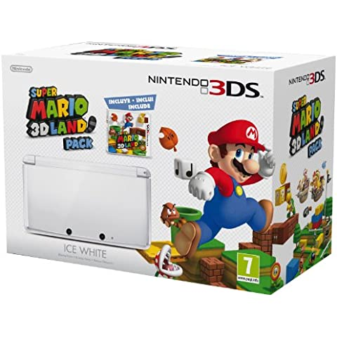 Nintendo 3DS - Consola, Color Blanco (Incluye Super Mario 3D Land)