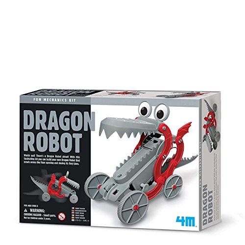 4M 68565 - Juego de construcción de dragón y Robot