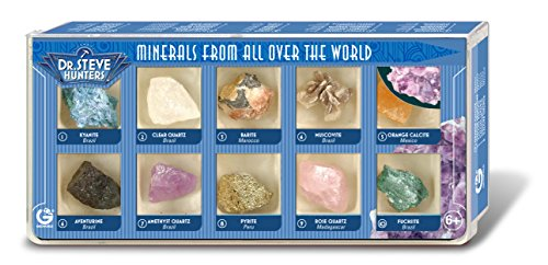 Dr. Steve Hunters ed501 K - Minerals from All Over The World, 10 minerales
