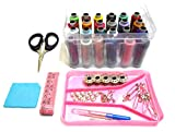 #2: Goelx Sewing travel kit with all supplies