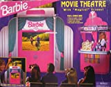Barbie Movie Theater With Magical Screen! Plus Snack Bar! Playset (1995) by Barbie