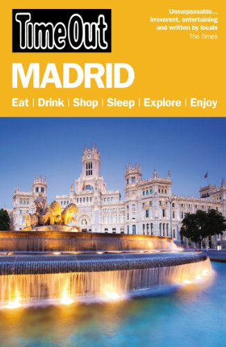 Time Out Madrid City Guide (Time Out Guides)