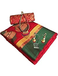 Sarees(Harikrishnavilla Sarees For Women Party Wear Half Sarees Offer Designer Below 500 Rupees Latest Design...
