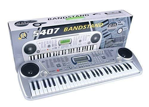 DOMENICO Fantasy India 54 Key Electronic Piano with LCD Display and Stereo