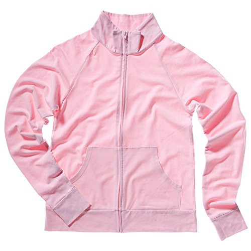 Bella+Canvas Cotton Spandex cadet jacket Pink S Cotton Spandex Cadet Jacket