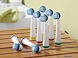 DENTALUX Zahnbürstenköpfe, 8 Stück (für IAN 45634 & 46741)