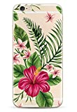 iPhone 7 , iPhone 8 Coque NOVAGO Coque Gel Souple solide avec impression fantaisie pour Apple iPhone 7 (4,7') et iPhone 8 (4,7') (Bouquet Exotique)