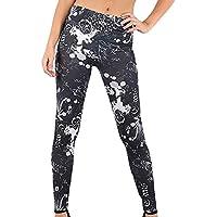 Pantalones Leggings Vestir Deportivos Yoga Halloween Fiesta para Mujer Otoño Invierno 2018 PAOLIAN Pantalones Running Fitness Moda Cintura Alta Jogger Pantalones Calaveras Elástica Señora
