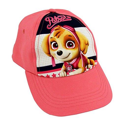 Lora Dora Baseballcap für Kinder mit Cartoonfiguren, anpassbar, Schirmmütze für Jungen und Mädchen Gr. Einheitsgröße, Paw Patrol - Skye