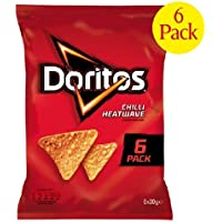 Doritos Chilli Ola de calor 6 x 30g