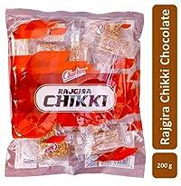 Charliee Rajgira Chikki - Amarnath Jaggery Chikki - Pillow Pack Chikki Cubes - High Protein Snack - Healthy Indian Sweet 150 g Each - Pack of 10