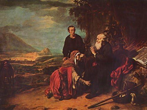 Lais Puzzle Puzzle Puzzle Gerbrand Van den Eeckhout - Le prophète Eliseus et Le sunamitin 500 Pieces | Couleur Rapide  761792